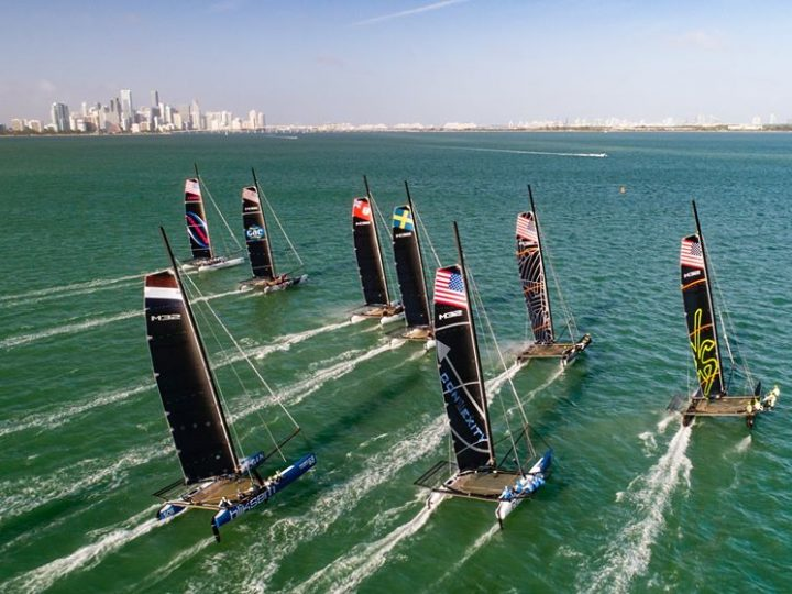 Windy Winter Series Start in Miami