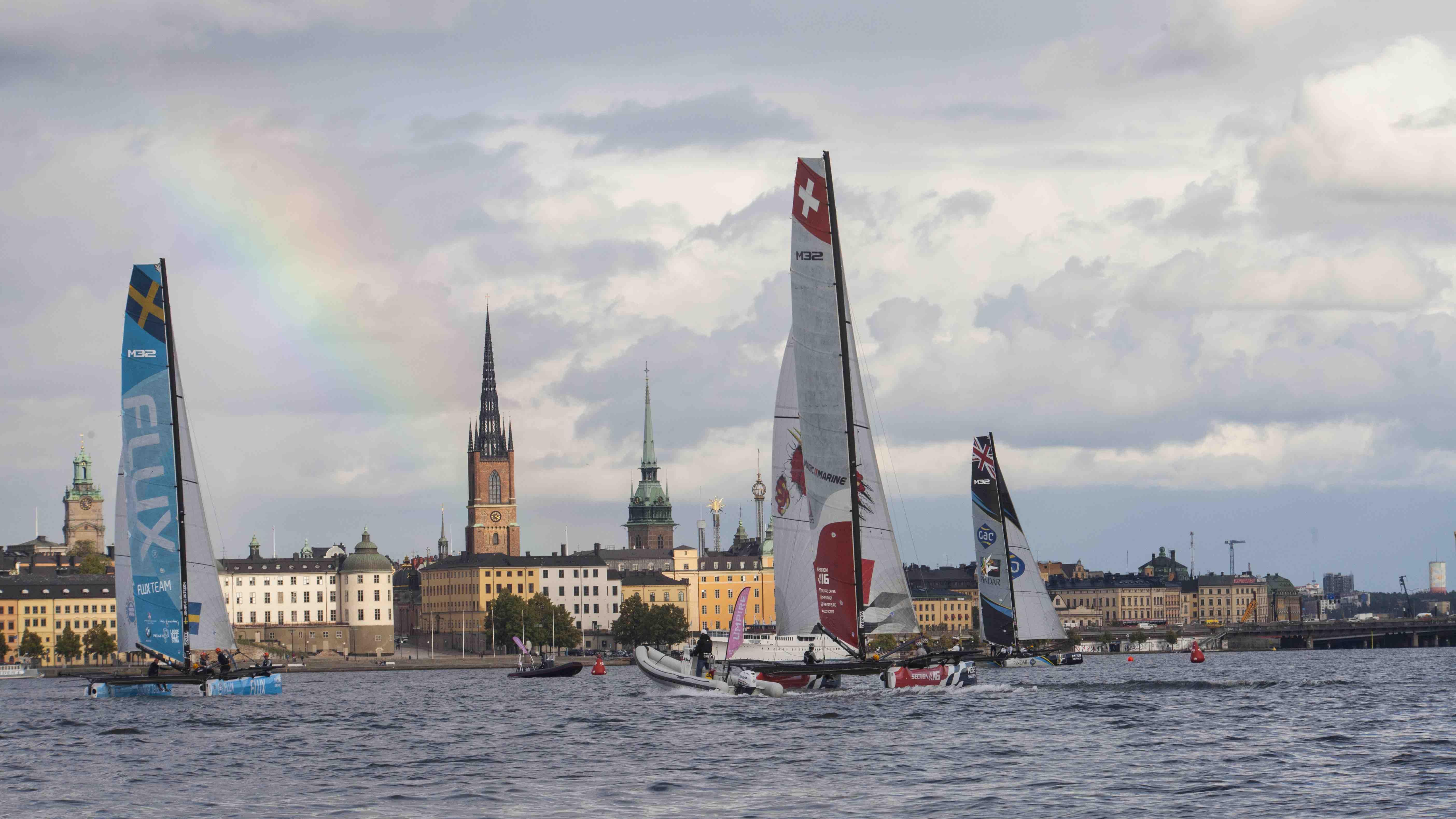Stockholm 2017 rainbow