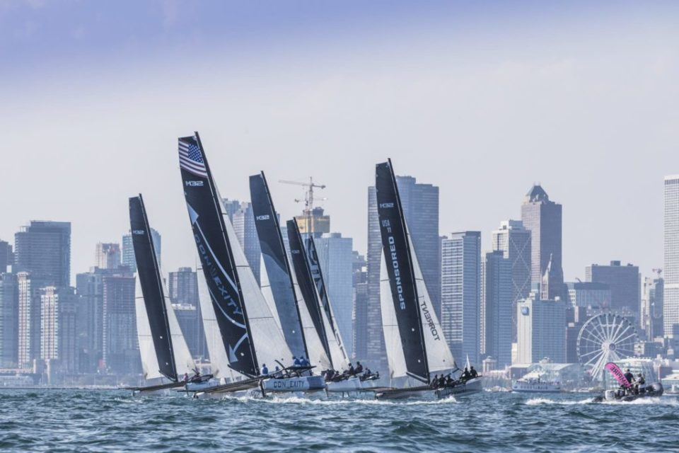 north america championship day 1 downwind