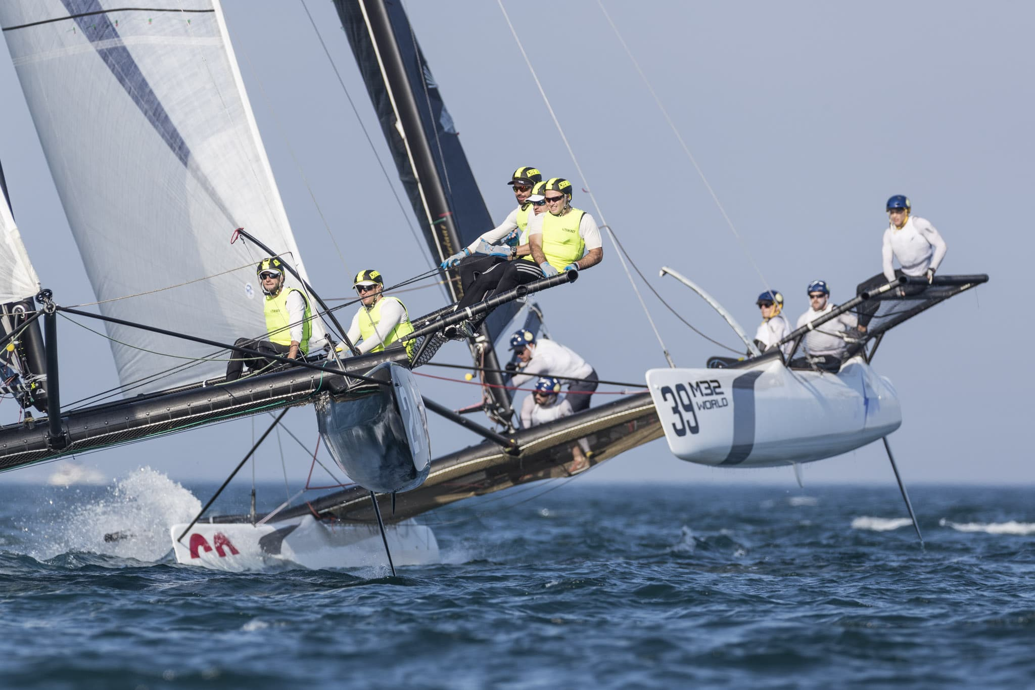 m32 north america championship day 1 racing