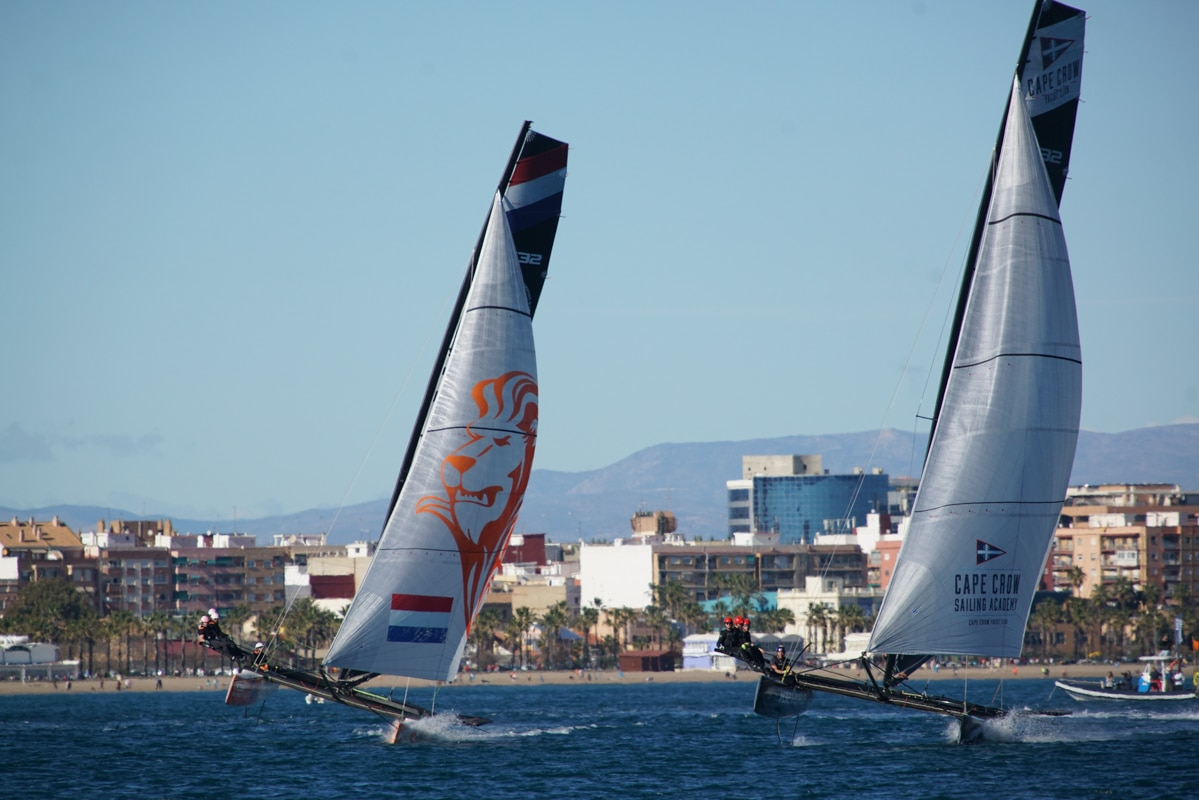 valencia event 1 2 boat sailing team nl
