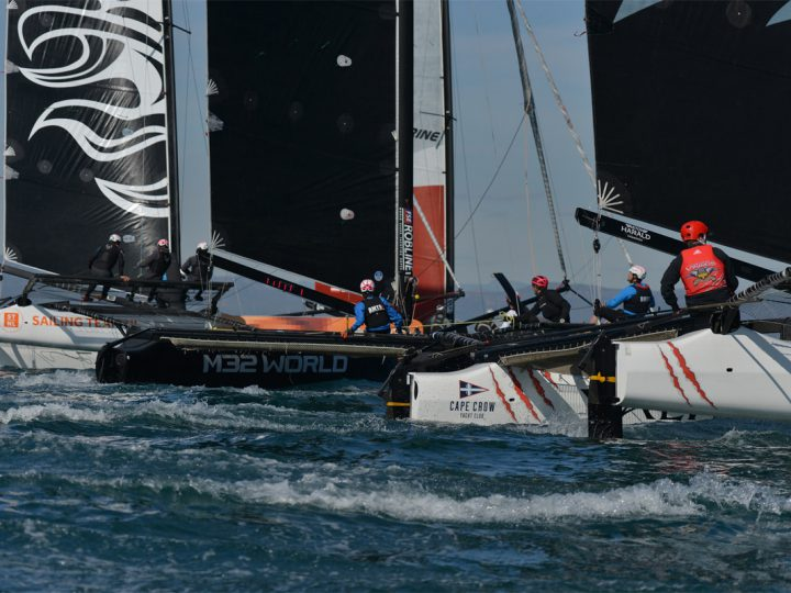 Alinghi Join M32 Series as Valencia Racing Hots Up