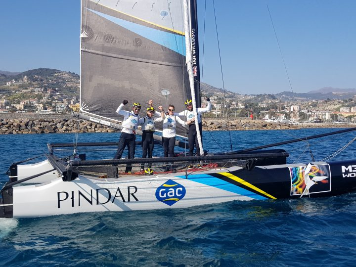 Sanremo victory for Williams and GAC Pindar