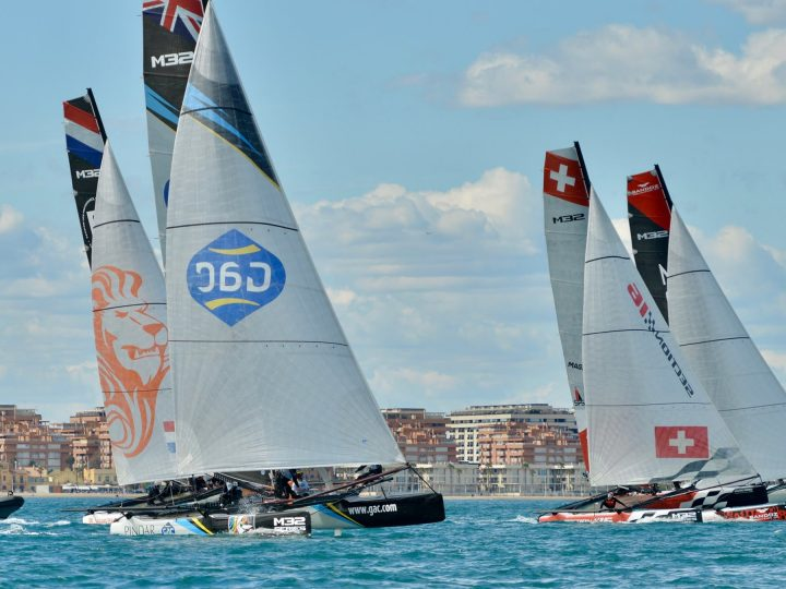M32 European Series warm-up in Sanremo