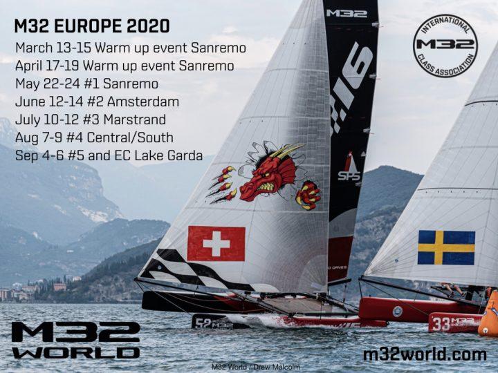 M32 European Series 2020 announced